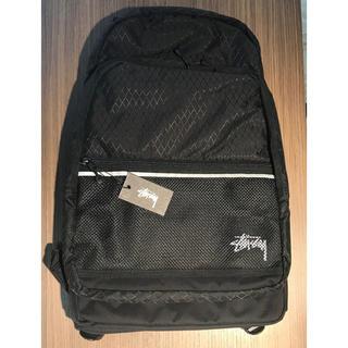 ステューシー(STUSSY)のStussy Diamond Ripstop Backpack Black(バッグパック/リュック)