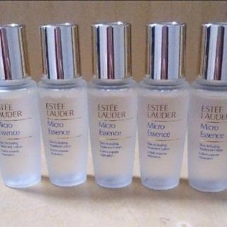 エスティローダー(Estee Lauder)のマイクロエッセンスローション 化粧水 15ml×5本 サンプルサイズ合計75(化粧水/ローション)