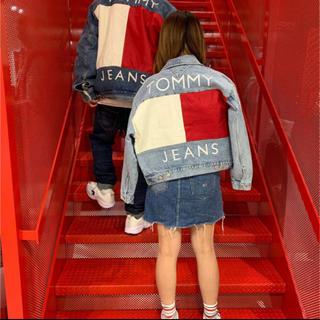 トミーヒルフィガー(TOMMY HILFIGER)のtommy jeans denim jacket(Gジャン/デニムジャケット)
