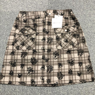 ポンポネット(pom ponette)のポンポネットの可愛いスカート140新品タグ付き(スカート)