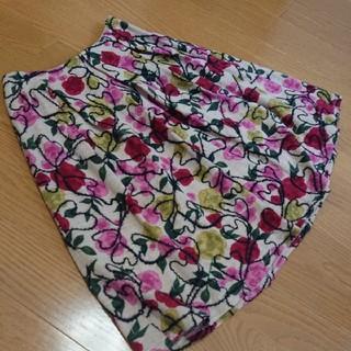 シビラ(Sybilla)のシビラ(未使用品)M ハート刺繍のふんわりスカート(ひざ丈スカート)