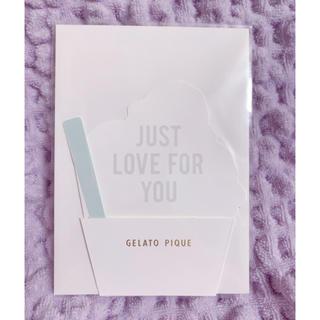 ジェラートピケ(gelato pique)のgelato pique  ジェラピケ メッセージカード ギフトカード(カード/レター/ラッピング)