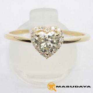 Nana様専用 ダイヤモンドハートシェイプリングK18YG(リング(指輪))