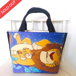 ディズニー(Disney)のライオンキング♡夜空デザイン (バッグ)