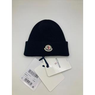 モンクレール(MONCLER)のニット帽  ニット キャップ moncler モンクレール ビーニー(ニット帽/ビーニー)