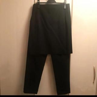 BLACK COMME des GARCONS - コムデキャルソン ブラック スカートドッキングパンツ