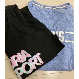 ヴィクトリアズシークレット(Victoria's Secret)のヴィクトリアズシークレット Tシャツ、タンクトップ(Tシャツ(半袖/袖なし))