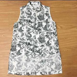 ルシェルブルー(LE CIEL BLEU)のルシェルブルー ブラウス シャツ トップス(シャツ/ブラウス(半袖/袖なし))