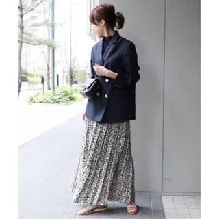 ノーブル(Noble)の新品 Noble ニュアンスプリーツマキシスカート(ロングスカート)