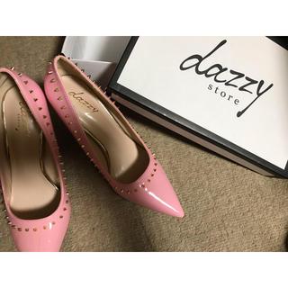 デイジーストア(dazzy store)のDaisy パンプス ヒール ピンク(ハイヒール/パンプス)
