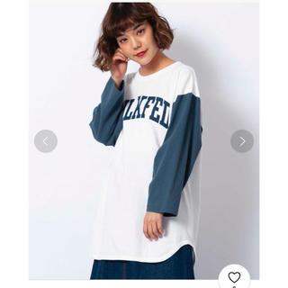 ミルクフェド(MILKFED.)のミルクフェドフットボールTシャツ(Tシャツ(長袖/七分))