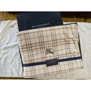 バーバリー(BURBERRY)のBURBERRY シール織り綿毛布(毛布)