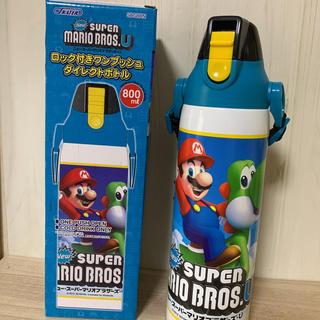 スーパーマリオ☆800ml   ステンレスダイレクトボトル(水筒)