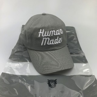 A BATHING APE - HUMAN MADE 20SS 6PANEL CAP  グレー