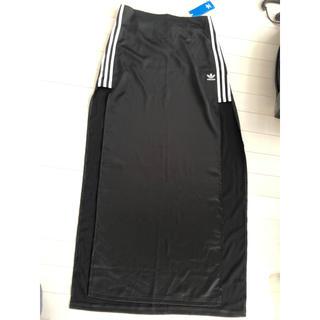 アディダス(adidas)のアディダス オリジナルス スリットスカート 新品(ロングスカート)