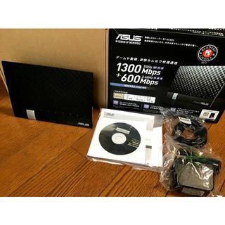 エイスース(ASUS)のASUS 無線ルーター RT-AC65U Giga 1300+600Mbps(PC周辺機器)