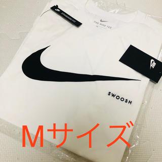 ナイキ(NIKE)のNIKE ナイキ Tシャツ スウッシュスタイルホワイトM(Tシャツ/カットソー(半袖/袖なし))