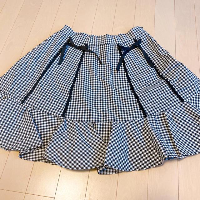 evelyn(エブリン)のevelyn チェック柄スカート レディースのスカート(ミニスカート)の商品写真