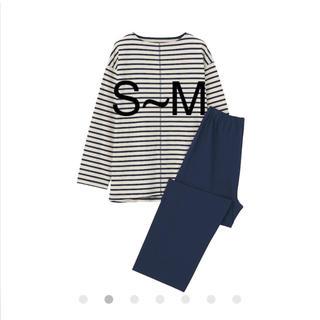 MUJI (無印良品) - 脇に縫い目のない 天竺編み パジャマ