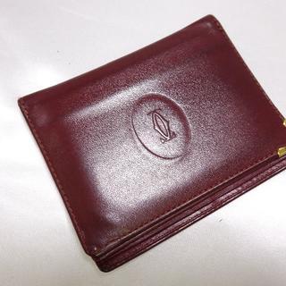 カルティエ(Cartier)のCartier カルティエ マストライン カードケース 定期入れ(名刺入れ/定期入れ)