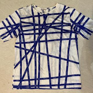 エルメス(Hermes)のエルメス HERMES   リボン柄 Tシャツ (Tシャツ(半袖/袖なし))