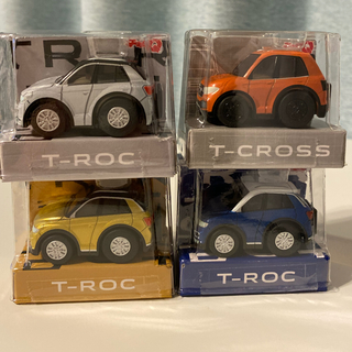 フォルクスワーゲン(Volkswagen)のワーゲン チョロQ 4台セット(ミニカー)