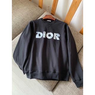 ディオール(Dior)のDIOR AND DANIEL ARSHAM☆モルトンコットン スウェットシャツ(スウェット)