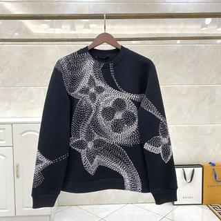 ルイヴィトン(LOUIS VUITTON)の人気☆ルイヴィトン フラワープリンテッドスウェットシャツ(スウェット)