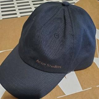 アクネ(ACNE)のAcne studios キャップ ブラック(キャップ)