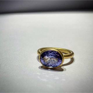 ドゥロワー(Drawer)のマリーエレーヌドゥタイヤック タンザナイト プリンセス リング(リング(指輪))
