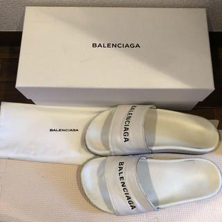 バレンシアガ(Balenciaga)の最終値下げ 希少 白 BALENCIAGA サンダル 39 26cm(サンダル)