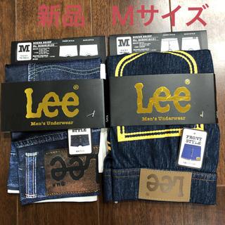 リー(Lee)のLEEボクサーパンツ デニム風+クラッシュデニム風 正規品 新品タグ付 最終値下(ボクサーパンツ)