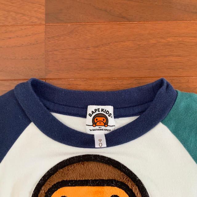 A BATHING APE(アベイシングエイプ)のエイプ Tシャツ キッズ/ベビー/マタニティのキッズ服男の子用(90cm~)(Tシャツ/カットソー)の商品写真