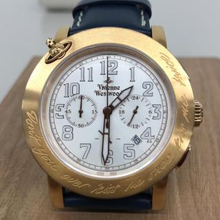 ヴィヴィアンウエストウッド(Vivienne Westwood)のgeckota★Vivienn Westwood クロノ腕時計(腕時計(アナログ))