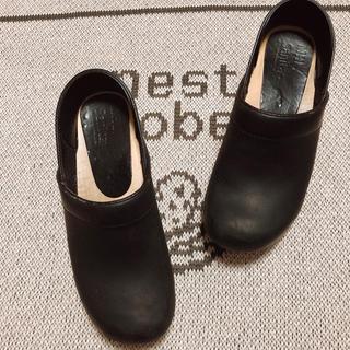 マーガレットハウエル(MARGARET HOWELL)のマーガレットハウエル×サニタの コラボサボ(ローファー/革靴)