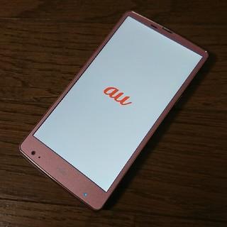 エルジーエレクトロニクス(LG Electronics)のlgv31 au 美品 (スマートフォン本体)