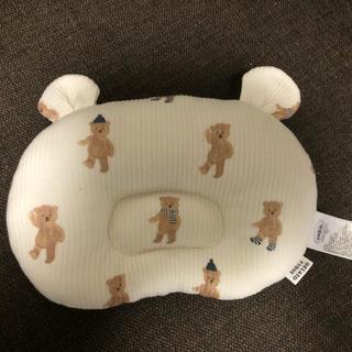 ジェラートピケ(gelato pique)の未使用テディベア枕(枕)