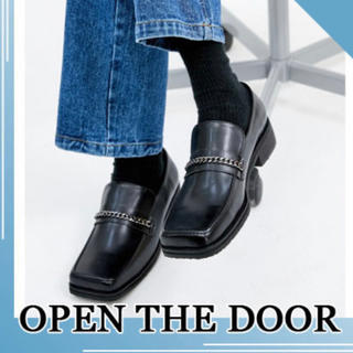 RAF SIMONS - OPEN THE DOOR  LOAFER SHOES