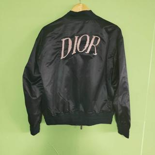 ディオール(Dior)のDIOR HOMME* 20SS ロゴ刺繍 MA-1 ボンバージャケット(テーラードジャケット)