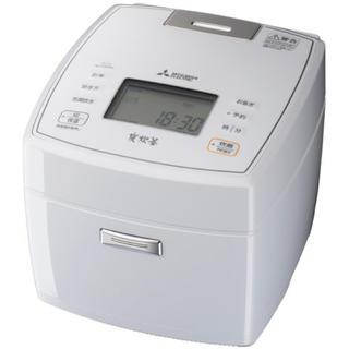 三菱 - 【新品未使用】炊飯器 三菱 NJ-VEB10-W