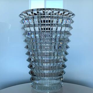 Baccarat - ✯ 美麗 Baccarat アイ ベース クリスタル 花瓶 オブジェ 美品 ✯