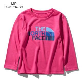 ザノースフェイス(THE NORTH FACE)の新品 ノースフェイス ロングスリーブ 150 140(Tシャツ/カットソー)
