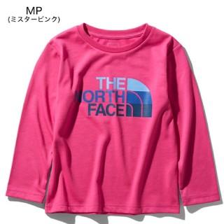 ザノースフェイス(THE NORTH FACE)の新品 ノースフェイス ロングスリーブ 130 120(Tシャツ/カットソー)
