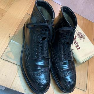 Alden - オールデン コードバン ウイングチップ ブーツ 44651HC 6 1/2D
