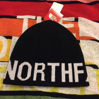 ザノースフェイス(THE NORTH FACE)のノースフェース、今季購入新品タグ付き、ニット帽4320円(ニット帽/ビーニー)
