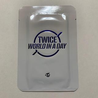 ウェストトゥワイス(Waste(twice))のTWICE world in a day トレカ(その他)