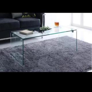 フランフラン(Francfranc)のガラステーブル Francfranc(ローテーブル)