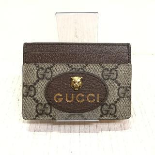 Gucci - GUCCI  ネオヴィンテージ GGスプリーム カードケース