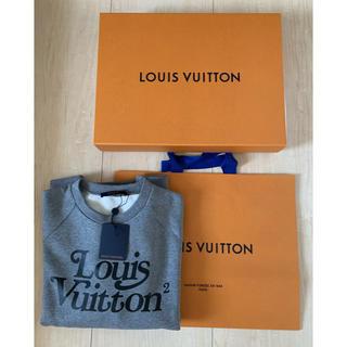 ルイヴィトン(LOUIS VUITTON)のLOUIS VUITTON スウェットシャツ L NIGO ルイヴィトン LV2(スウェット)