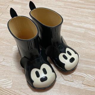 ダイアナ(DIANA)のダイアナ ディズニー レインブーツ 長靴 ミッキー 15.0(長靴/レインシューズ)